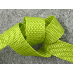 PP-Gurtband 20 mm lime