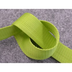 PP-Gurtband 30 mm lime